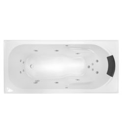 Decina Renee Santai 1495mm Spa Bath 12 Jets Bathroom