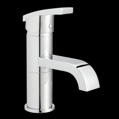 AVIAD BASIN MIXER WITH 110mm FIXED SPOUT