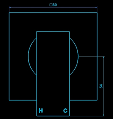 Ramstad Aviad Mixer Dimension