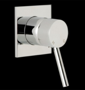 Ram Evolve Wall Mixer With Square Plate