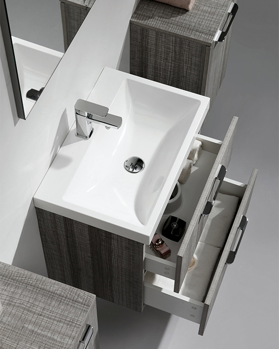 basin and drawer