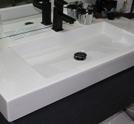 Custom Vanity Unit 1000mm with China top