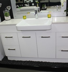 custom made vanity unit