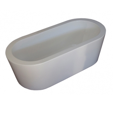 Forme oval freestanding acrylic bath bathroom supplies for Forme in plexiglass
