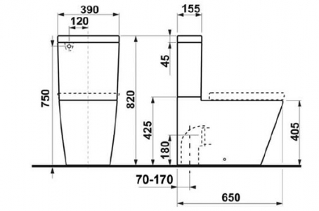 toilet dimensions from wall. Jika toilet dimension Gala Lava Back to Wall Toilet Suite  Bathroom Supplies in Brisbane