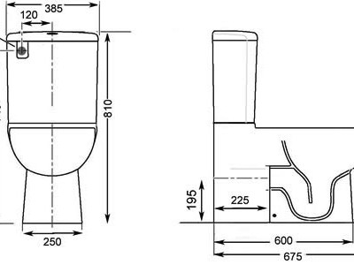 toilet dimensions from wall. Gala KYO Back to wall Toilet Suite  Bathroom Supplies in Brisbane