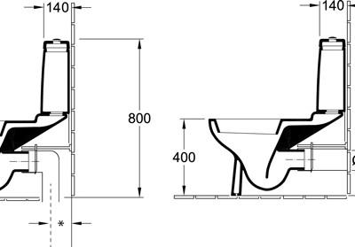 Onovo toilet sale