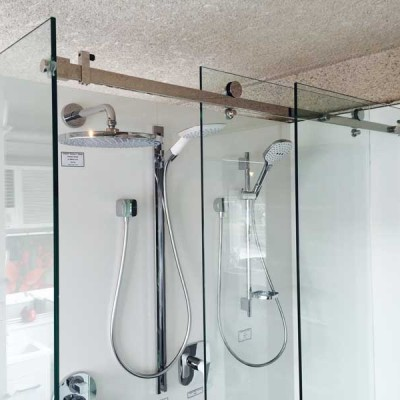 opto shower screen rail
