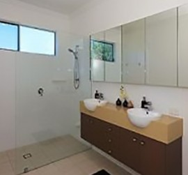 Mm Frameless Glass Panel Shower Brisbane