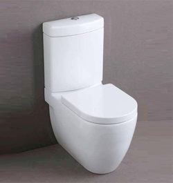 Villeroy boch architectura sq back to wall toilet suit for Studio bagno q series wall faced pan
