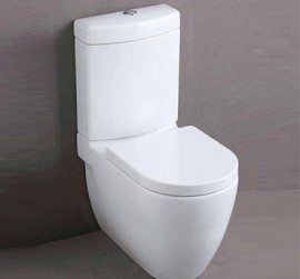 Gemini Life Back To Wall Toilet Suite Including Soft Close