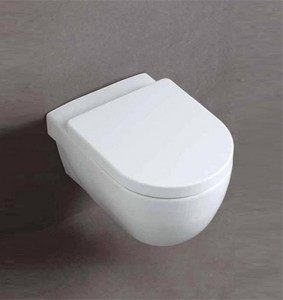 studio bagno wall hung toilet