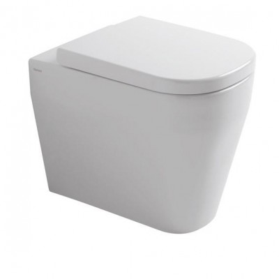 Tutto Evo Wall Faced Pan Toilet white