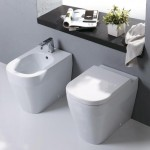 Tutto Evo Wall Faced Pan Toilet with bidet