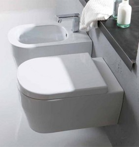 Tutto Evo Wall Hung Pan Toilet