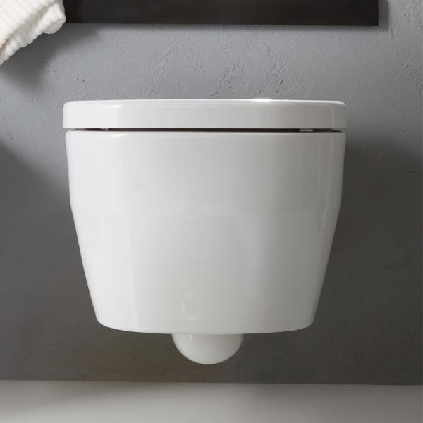 Tutto Evo Wall Hung Pan Toilet Bathroom Supplies In