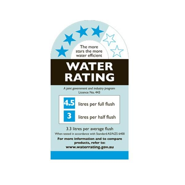 water rating for studio bagno toilet