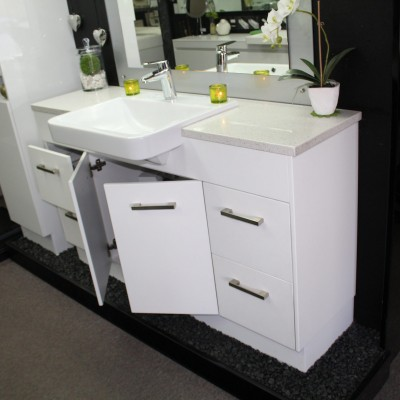 Custom Vanity 1500mm With Stone Top