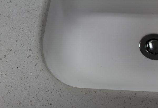 corner of integrated basin