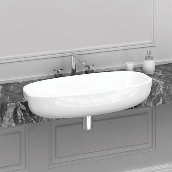 Studio Bagno Lago 75 Semi Recessed White
