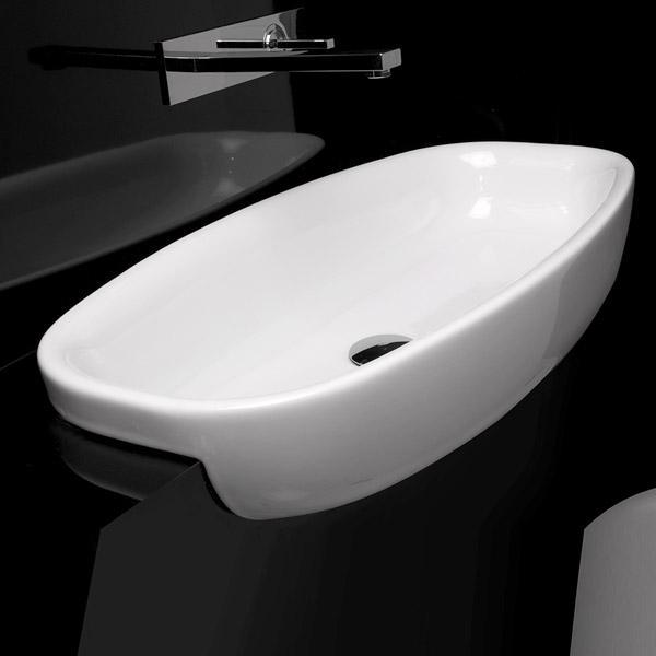 Studio Bagno Lago 75 Semi Recessed Bathroom Supplies In Brisbane