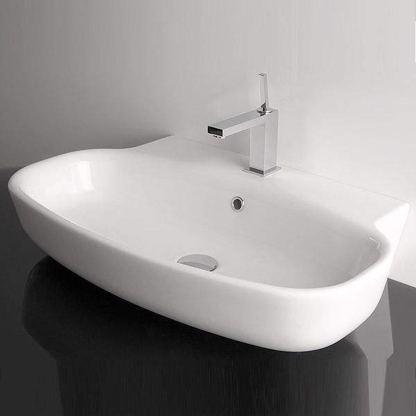 Lago75 Basin white