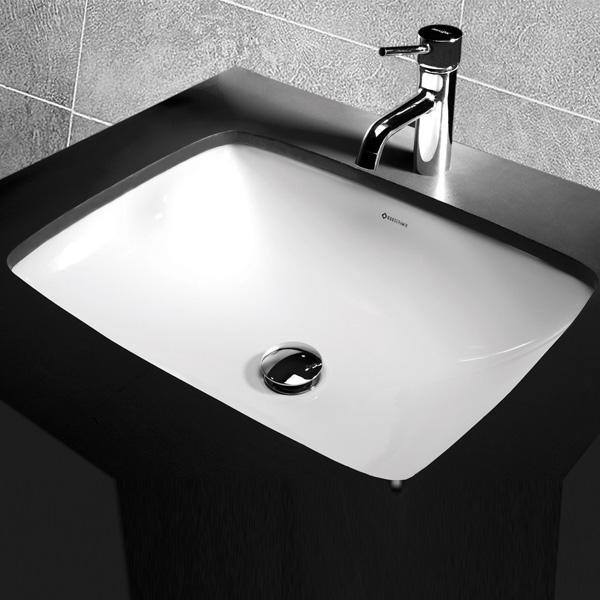 Bathroom vanity units brisbane - Studio Bagno Sotto Rectangular Basin Bathroom Supplies