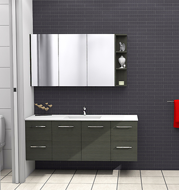 Timberline Carlo Vanity 1500mm