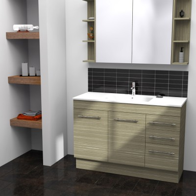 Timberline Indiana Vanity Unit 1200mm