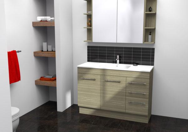 Timberline Indiana Vanity Unit 1200mm