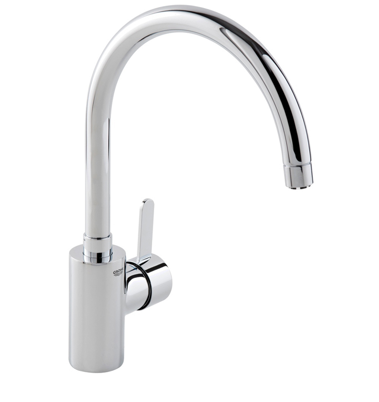 grohe eurosmart cosmopolitan gooseneck kitchen mixer bathroom