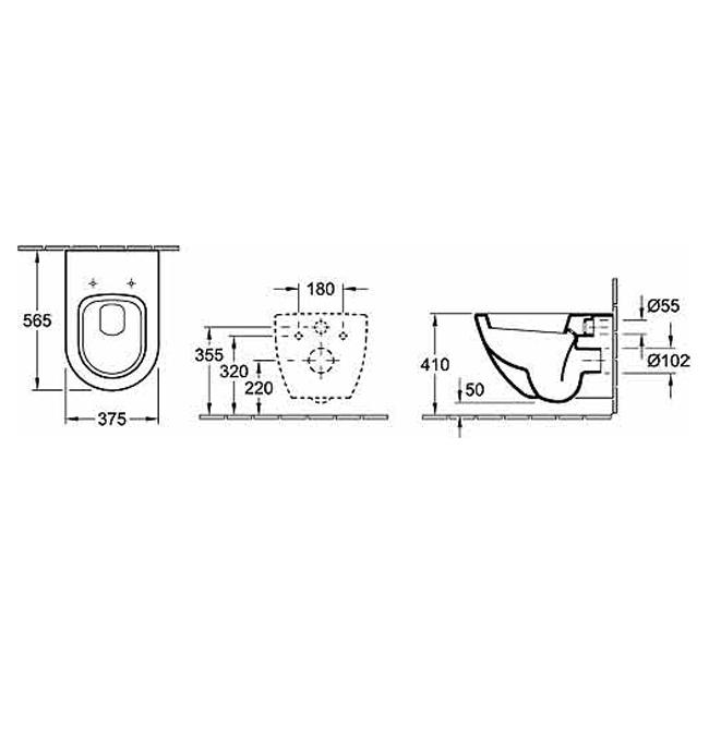 villeroy boch subway wall hung pan bathroom supplies. Black Bedroom Furniture Sets. Home Design Ideas