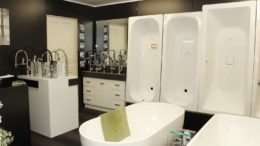 bath tubs in Brisbane showroom