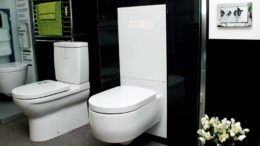 perfect bathroom with TECE toilet cistern