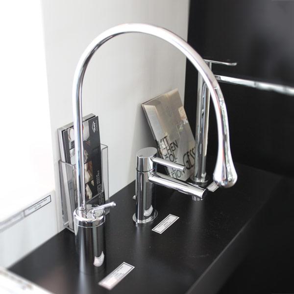 Gessi Basin Mixer on display