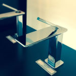 Ispa Basin Mixer in our showroom