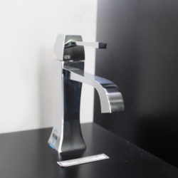 Mimi Basin Mixer on display at Bathroom Supplies