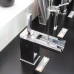 Modern Tapware from Gessi- Cascata Waterfall Basin Mixer