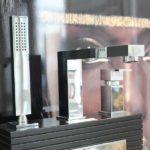 Rettangolo 3 Piece Bath Set Chrome at Bathroom Supplies