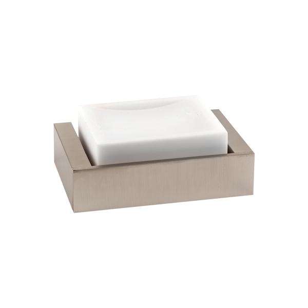 Rettangolo Soap Dish with White Corian