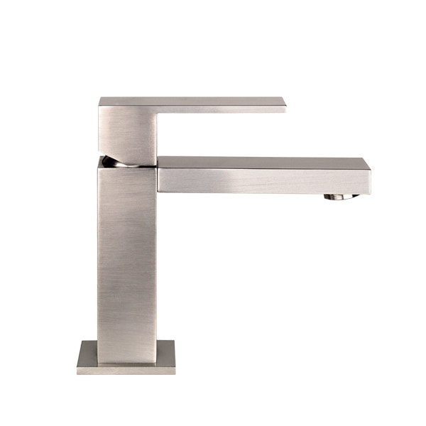 Rettangolo Standard Basin Mixer -Brushed Nickel