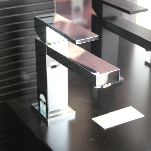 Rettangolo Standard Basin Mixer - Chrome