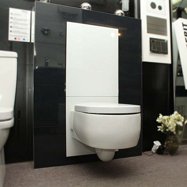 Tecelux 400 In Wall Cistern Sentouch Glass Amp Ceramic Air