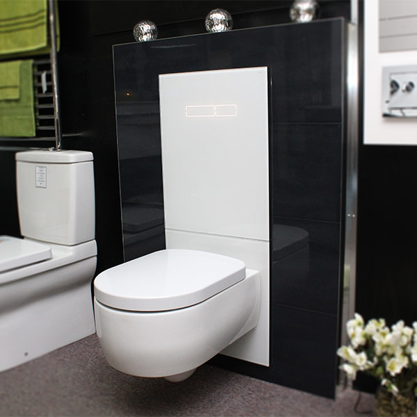 Tecelux 400 In Wall Cistern Sentouch Glass Amp Ceramic Air Bathroom Supplies In Brisbane