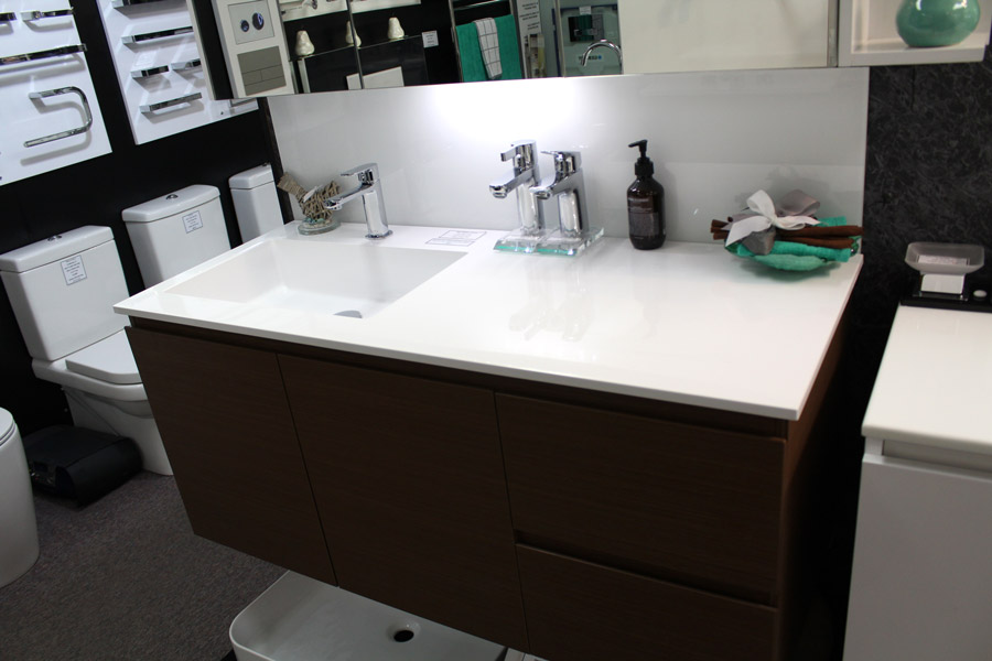 1200mm wall hung vanity with piemont cherry textured. Summer Twin 1200 Wall Hung Vanity Unit   Bathroom Supplies in Brisbane