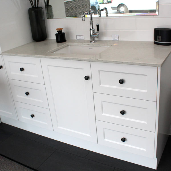 Custom Bathroom Vanity Units custom vanity unit 1450 & tall boy 400 – bathroom supplies in brisbane
