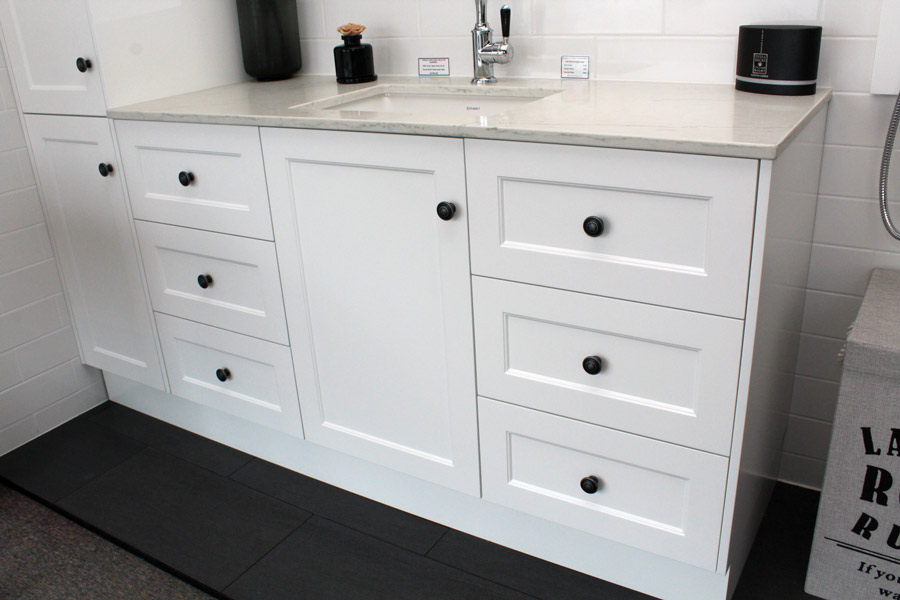 Custom Vanity Unit 1450 Tall Boy 400 Bathroom Supplies In Brisbane
