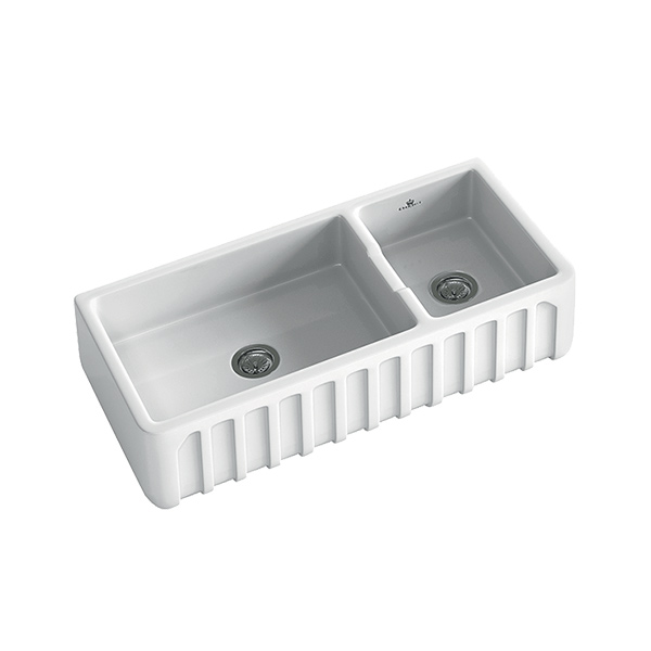 Abey Chambord Louis -3W 1 1/2 Ceramic Sink – Bathroom Supplies in ...