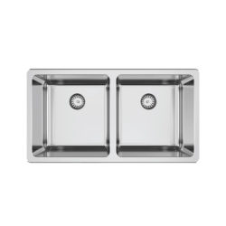 Abey Lago Double Bowl Sink