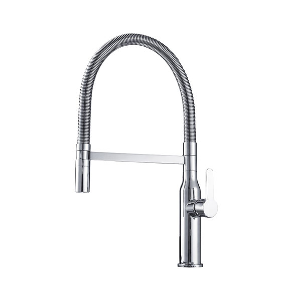 Arcisan AR01264 Kitchen Mixer with Handspray on Metal Hose